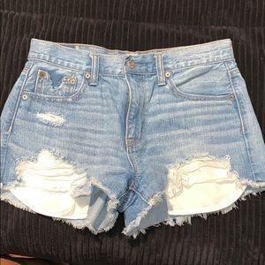 Vintage hi rise festival shorts